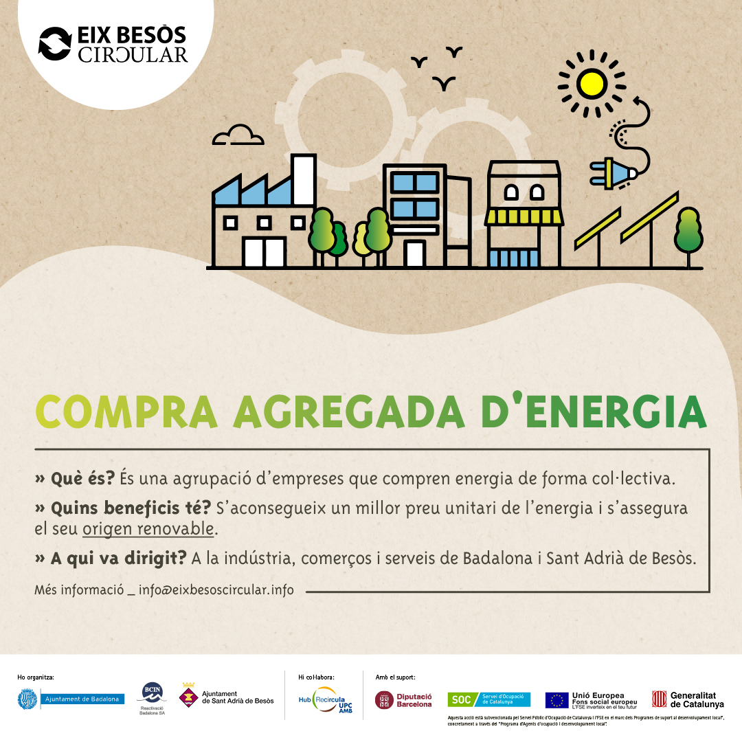 Read more about the article Resum de la jornada informativa sobre la compra agregada d'energia